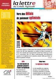 LettreEntreprise 2-08 - Crédit Agricole Toulouse 31