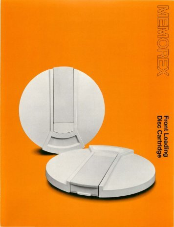 Memorex's New Front Loading Disc Cartridge Dramatic Design ...