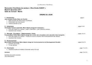 CR RC du 6 décembre 2011 - Ville de Chaville