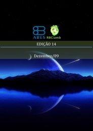 EDIÇÃO 14 - Dezembro/09 - RBCIAMB