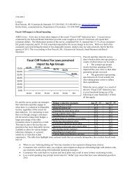 Impact from Fiscal Cliff Tax Law 2013 - Iowa Community Indicators ...