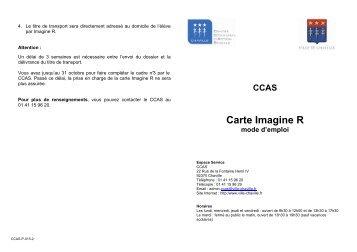 notice carte imagine R - Ville de Chaville