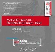 master - UFR Droit et Sciences Sociales - Université de Poitiers