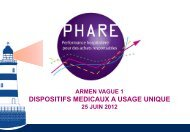 Dispositifs médicaux à usage unique - ARS Rhône-Alpes