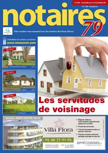 "Journal des Notaires ""Notaires 79"" - Le Journal des Notaires"