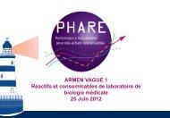 consommables de laboratoire - ARS Rhône-Alpes