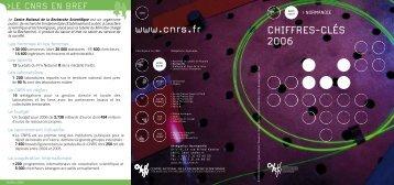 Télécharger les chiffres clés - Délégation Normandie - CNRS