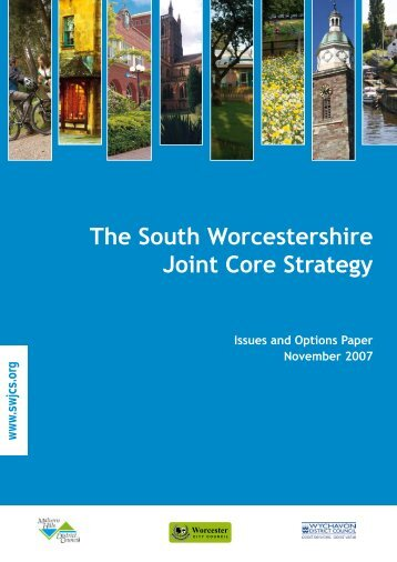 SWJCS Issues and Options Paper - South Worcestershire ...