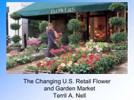 The Changing U.S. Retail Flower and Garden Market Terril A. Nell
