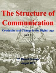 The Structure of Communication - W. Russell Neuman Homepage