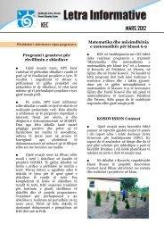 MARS 2012 - Qendra për Arsim e Kosovës