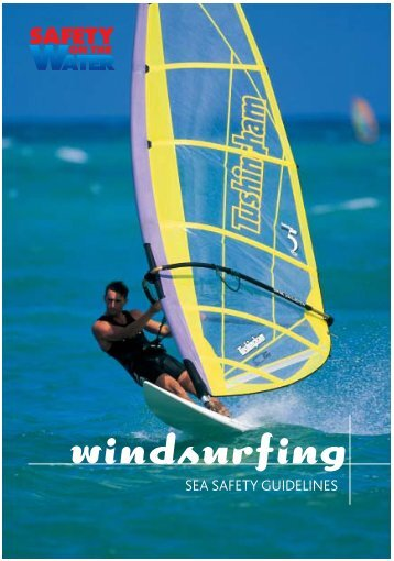 Download our Windsurfing Booklet in PDF Format - Safety On The ...