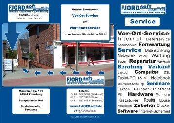 FJORDsoft - Service