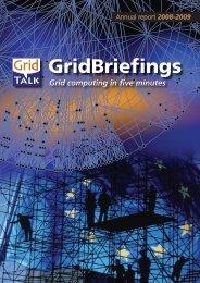 Annual report 2008-2009 - e-ScienceTalk