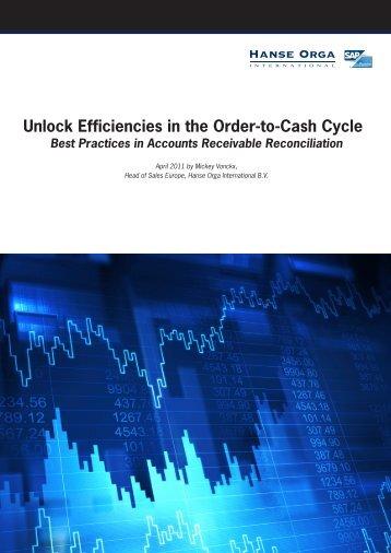 Unlock Efficiencies in the Order-to-Cash Cycle ... - Hanse Orga AG