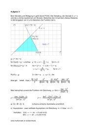 Kurvendiskussion einer rationalen Funktion (inkl ... - Mathematik.ch