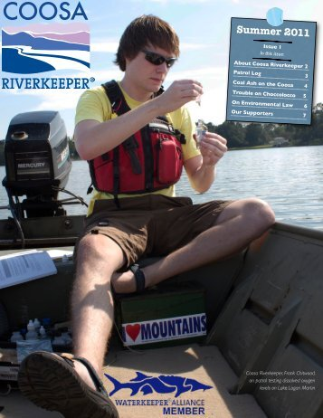 Issue 1: Summer 2011 - Coosa Riverkeeper