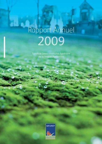 Rapport annuel 2009 - Sifurep