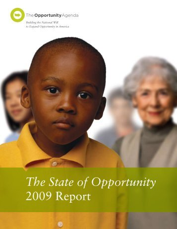 The State of Opportunity 2009 Report with Indicators - PDF