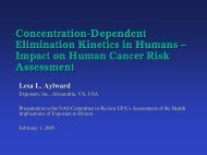 Concentration-Dependent Elimination Kinetics in ... - Dioxin Facts