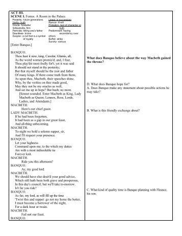 hamlet i iii study questions Short answer study guide questions - hamlet act one 1 at the end of scene iii, ophelia agrees to obey what will she do 15 what did the ghost tell hamlet.