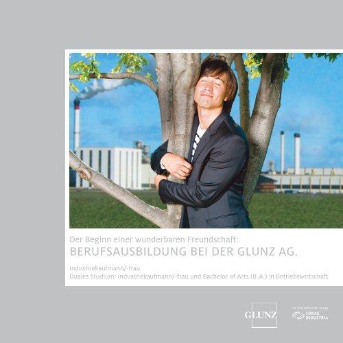 Broschüre Ausbildung - Kaufmännische Berufe - Die Glunz AG