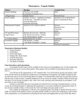 oedipus rex study guide pdf