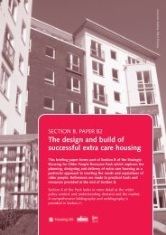 Paper 2: The design and build of successful extra care housing