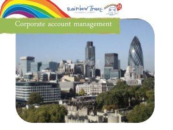 Corporate account management - Institute of Fundraising