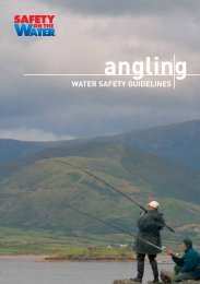 Download our Angling Safety Guidelines Booklet in PDF Format