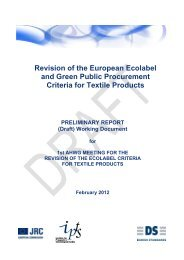 Revision Of The European Ecolabel And Green Public