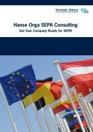Hanse Orga SEPA Consulting Get Your Company ... - Hanse Orga AG