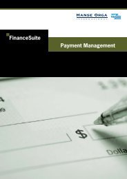 Payment Management A4.indd - Hanse Orga AG