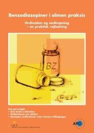 Benzodiazepiner i almen praksis - Institut for Rationel Farmakoterapi