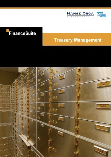 Treasury Management A4.indd - Hanse Orga AG