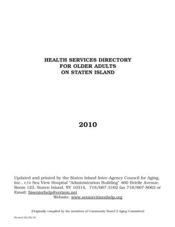 Adults directory
