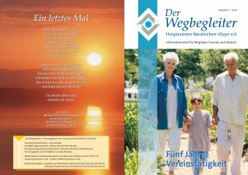 Ausgabe 01-2006 - Hospizverein Neukirchen-Vluyn e.V