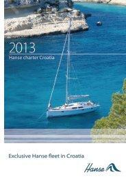 Exclusive Hanse fleet in Croatia - Hanse Yachts Croatia