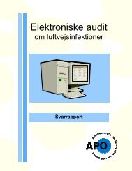 Elektroniske audit - APO