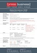 Press Business Mediaunterlagen 2009:Press ... - Presse Fachverlag - Seite 2