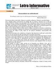 Prill 2007 Komunikimi me adoleshentë - Qendra për Arsim e Kosovës