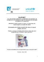 RAPORT - Qendra për Arsim e Kosovës
