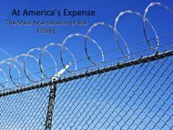 At America's Expense