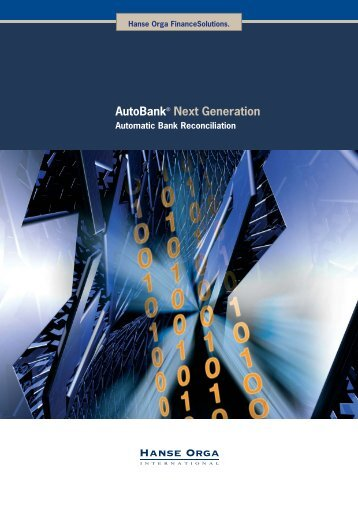 AutoBank Next Generation_engl_082011.indd - Hanse Orga AG