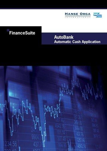 AutoBank Automatic Cash Application A4.indd - Hanse Orga AG