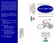 Tour de Apple Valley