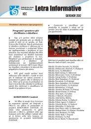 QERSHOR 2012 - Qendra për Arsim e Kosovës