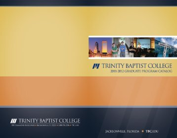 Untitled - Trinity Baptist College