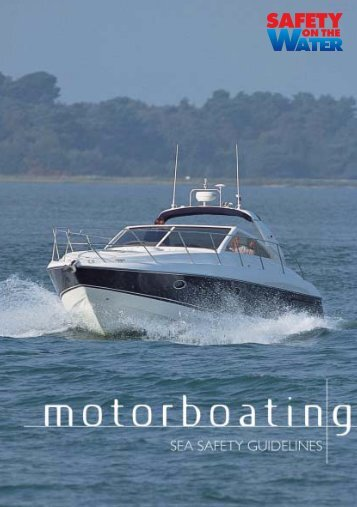 Download our Motorboating Booklet in PDF Format - Safety On The ...