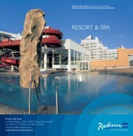 RESORT & SPA - Radisson Blu